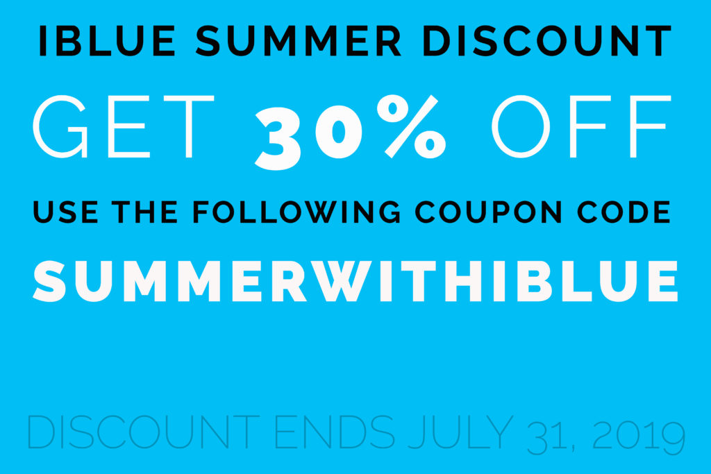 iBlue Summer Discount 30% OFF